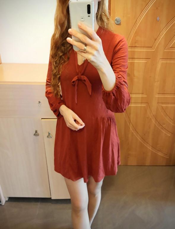 Sukienka z wiązaniem S M