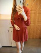 Sukienka z wiązaniem S M...