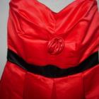 Czerwona sukienka koktajlowe bombka M na imprezę