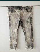 48 50 52 duże plus size jeansy Mazanek marmurki modne...