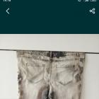 48 50 52 duże plus size jeansy Mazanek marmurki modne