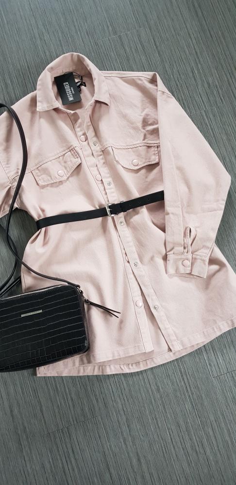 Przejściowa kurtka koszula oversitze Missguided...