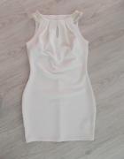 kremowa sukienka Orsay M...