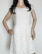 v187 sukienka koronkowa Reserved rozm M...