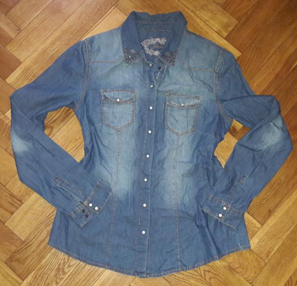 Koszula jeans jeansowa Orsay xl dzety
