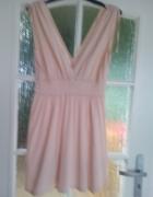 Swietna morelowa sukienka...