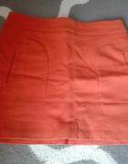 Spódnica ceglana Zara...