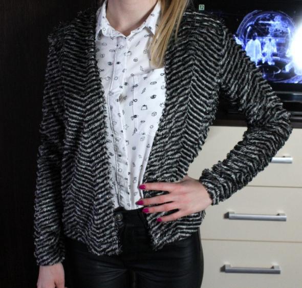 Sweterek rozpinany elegancki rozmiar XS