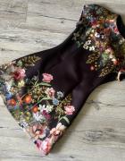 Asos piękna sukienka piankowa kwiaty st Idealny S...