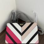 Nowa torebka torba Victoria s Secret czarna kolorowa na ramię