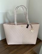 Torba Victoria s Secret różowa na ramię torebka VS...
