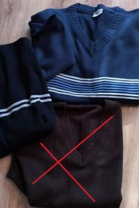 Sweter męski bezrękawnik XL XXL zestaw 3 szt...