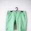 Miętowe jeansowe szorty jeans zielone spodenki pastelowe