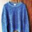 Ciepły sweter H&M niebieski...