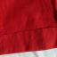 Beneton bordowe bermudyrybaczki bawełna len