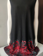 Sukienka trapezowa czarna XL...