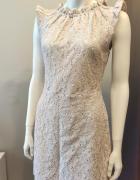 Sukienka kremowa ASOS 38...