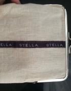 Stella McCartney portmonetka len torebeczka...