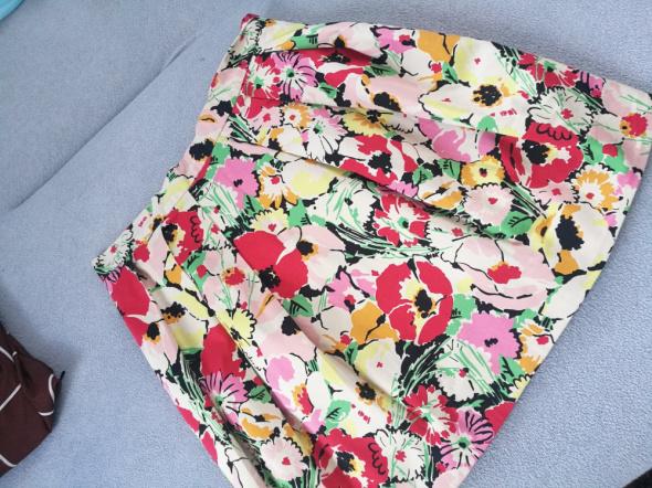 wiosenna spódniczka zakładki tulipan