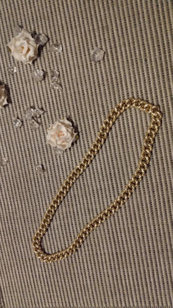 naszyjnik gruby łańcuszek