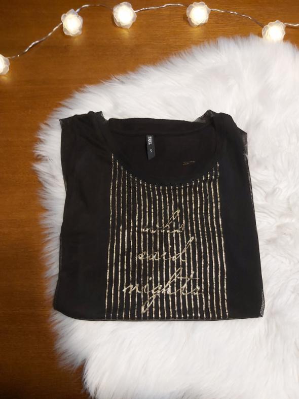 Czarna bluzka S bez rękawów