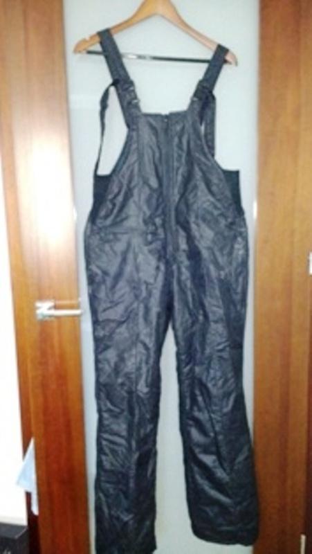 Kombinezony Spodnie Narciarskie czarne