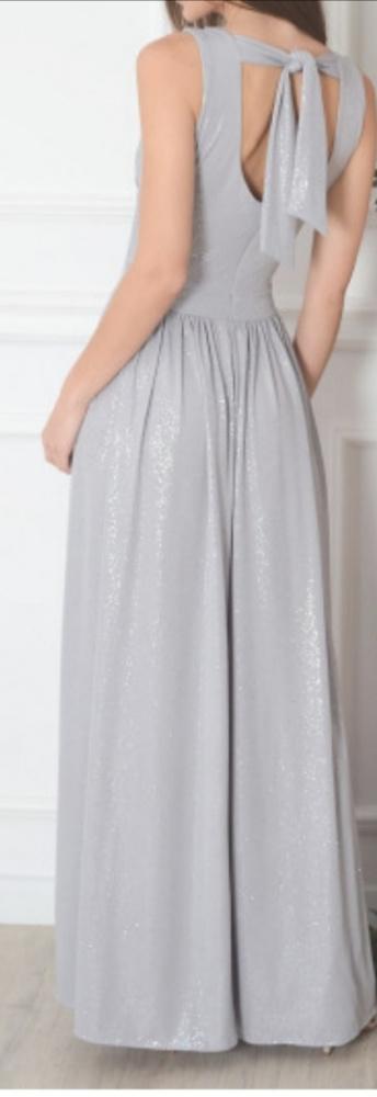 Sukienka z brokatem długa...