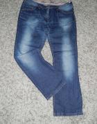 jeansy przecierane 46...