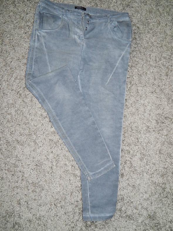 jeansy z lampasem mazane 44 46