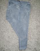 jeansy z lampasem mazane 44 46...