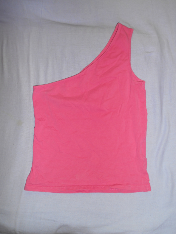 Różowa Bluzeczka na jedno ramie XS S...