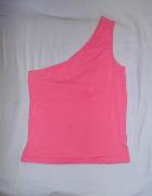 Różowa Bluzeczka na jedno ramie XS S