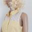 Żółta bluzka bez rękawa