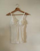 koszulka nina con c bieliźniana na ramiączkach ecru...