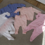 zestaw ubranek 56 62 pajacyki sweterek komplet