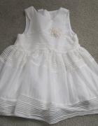sukienka H&M 92 biała...