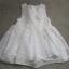 sukienka H&M 92 biała