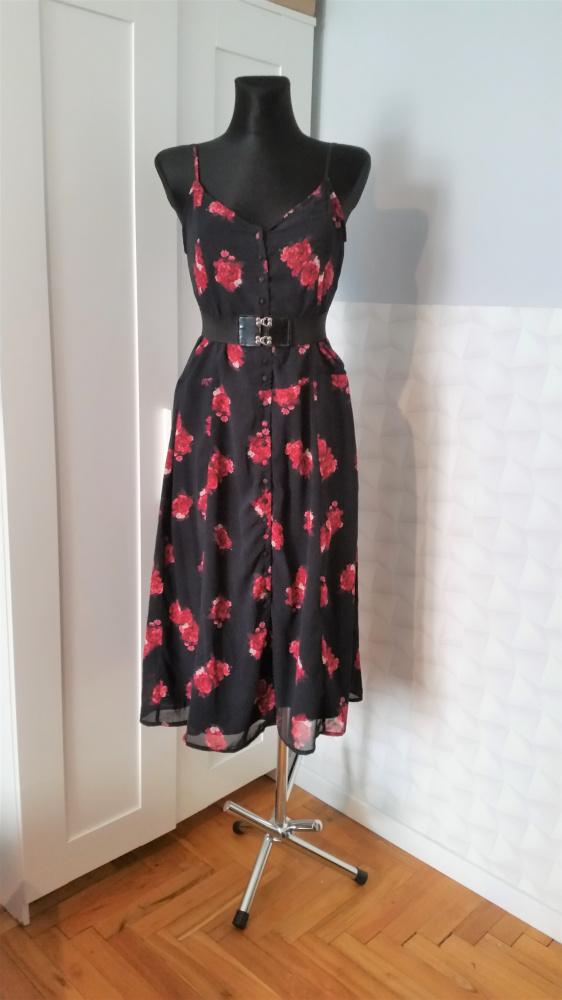 Suknie i sukienki Piękna sukienka w kwiatki Contrast na kd