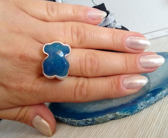 Oryginalny srebrny pierścionek tous