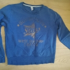 Niebieska bluza zara kids 152