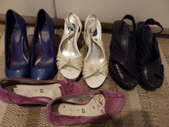 Buty różne używane