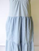 Sukienka Dżinsowa Mango S 36 Jeansowa Long Dżins Jeans...