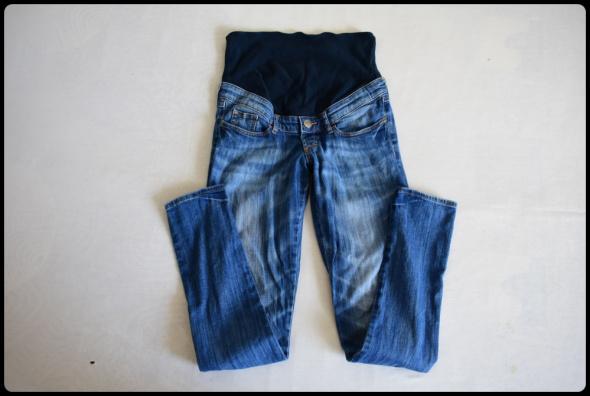 H&M Mama spodnie ciążowe jeansowe 38 M