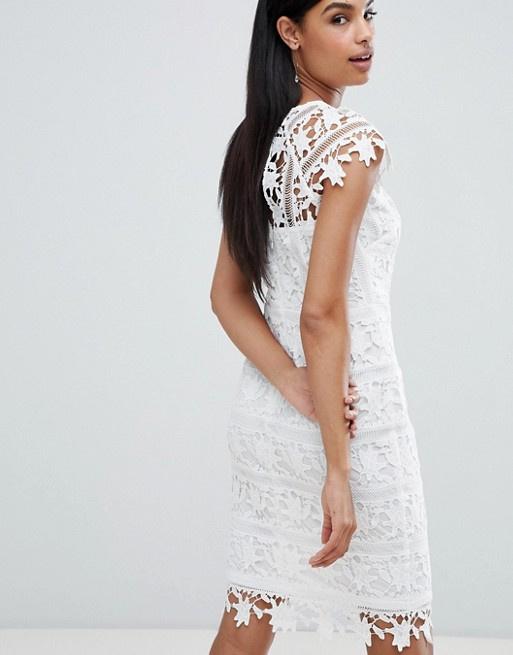 Biała sukienka ASOS...