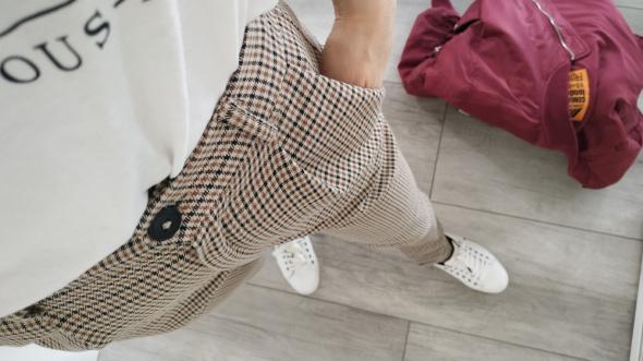 Nowe spodnie chinos pull and bear
