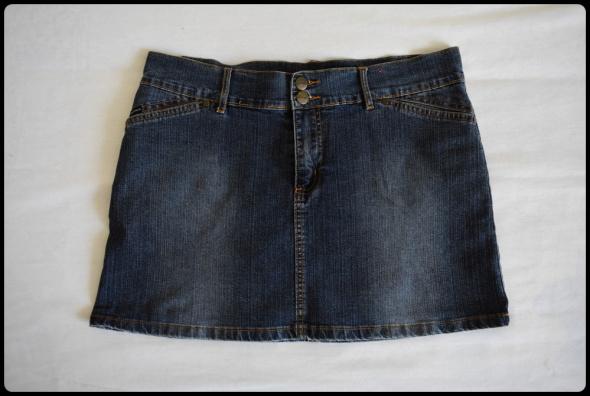 Krótka spódnica jeansowa mini FOXHOLE rozmiar 40 L