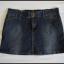 Krótka spódnica jeansowa mini FOXHOLE rozmiar 40 L...