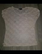 Koronkowa bluzeczka z kieszonką Cubus S...