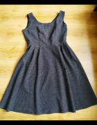 Sukienka Next czarna kropki 42 14...