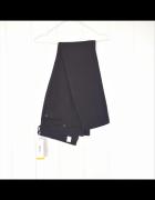 Nowe czarne spodnie jeansy dżinsy H&M 50 5XL proste skinny regu...